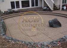 Past Work - Concrete patio-1