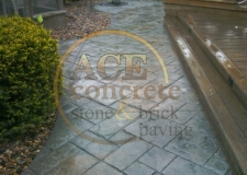 Prior Work - stamped concrete - patio