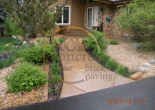 Prior Work - stamped concrete - walkway