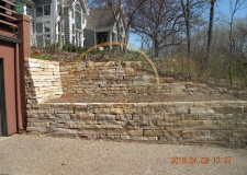 Prior Work - stone - retaining wall